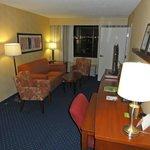 Corner suite entry room
