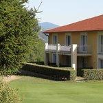 golf hotel side view