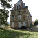 to be renovated chateau on the golf court