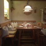 Mesas del restaurante