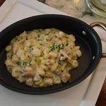 Braised Rabbit with Hominy and Corn