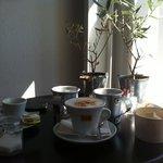 Buon Caffè Italiano ,ottimo Yogut!!