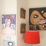 Joanne Campbell and Cynthia's art.