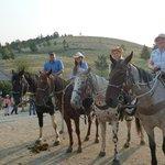 """alle """"ohne Cowboyhut"""" hatten keine Ahnung vom Reiten und haben es überlebt :-)"""