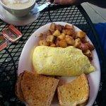 Patty o' Sullivan omelet