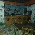 La sala ristorante e colazione