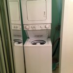 washer/dryer- could heat up area since it vented into the room