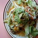 """A """"small"""" taco salad. Big enough for a lunch meal."""