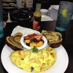 Farmer's omelette.  Delicious.
