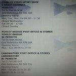 Local shop details