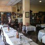piccola parte interna del ristorante !