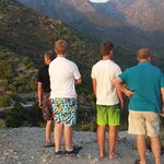 On top of the mountain in the National Park, Nerja