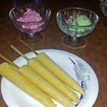 Superb Kulfi, Rose and Paan flavoured ice-cream.