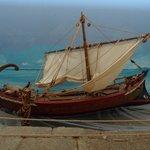 Museo della ceramica: Diorama con imbrcazione greca