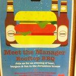 BBQ night poster