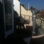 loft suite private terrace