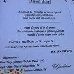 1er menu