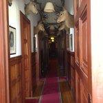 Derry apartment corridor