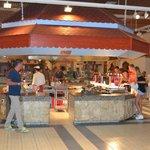 salle buffet