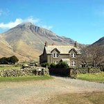 Lingmell House with Great Gable behind