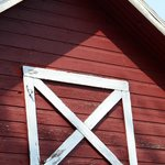 Close-up of barn
