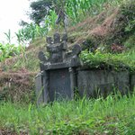 ancient burial tomb along trail