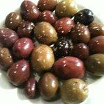 Les olives pour le ouzo