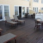 Terrace with view to Block Island