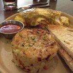 omelet... yum