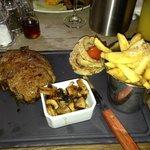 Excellent steak