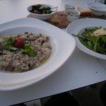 Risotto & Rocket Salad
