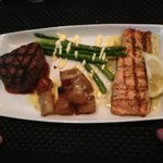 filet and salmon
