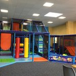 new indoor soft play area (€3.90/hour)