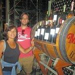 Selection of wines produced at Muga