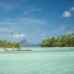 Bora Bora in the background