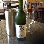 Spring fling wine in the taste-testing room at 7 Springs Winery