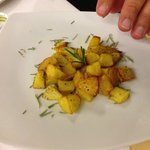 Una porzione di patate al forno...