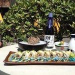 sushi rolls at timezone 8