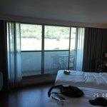 Large river facing rooms