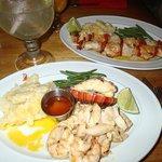 Very good and fresh seafood..