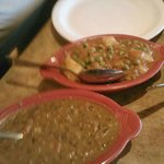 Aloo Mutter and Dal Makhani