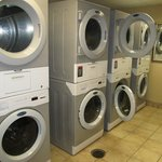 Laundry room- free and open 24 hours, great! Attached to gym, perfect- workout & wash!