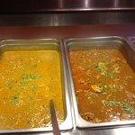 chicken korma & chicken curry