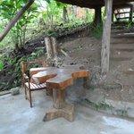 Lower patio - Cabin #2
