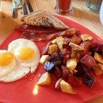 traditional breakfast yum!