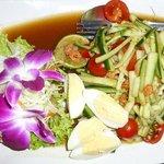 Dtam Dtaeng - Spicy Cucumber Salad