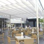Terraza de cafetería