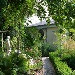 Gartenblick auf Gartensuite