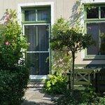 Gartensuite mit Terrasse