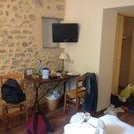 la chambre (apres notre passage) ;) tres propre!